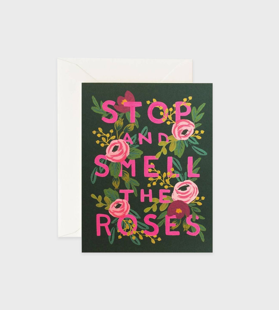 Rifle Paper Co. | Stop & Smell The Roses Card