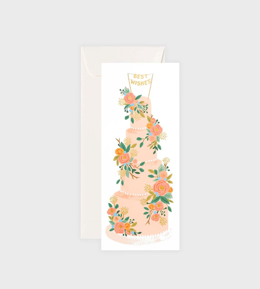 Rifle Paper Co. | Tall Wedding Cake Long Card