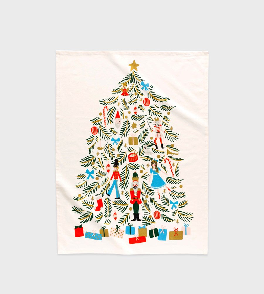 Rifle Paper Co. | Tea Towel | Christmas Tree