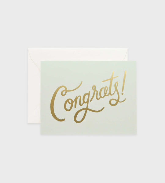 Rifle Paper Co. | Timeless Congrats Card