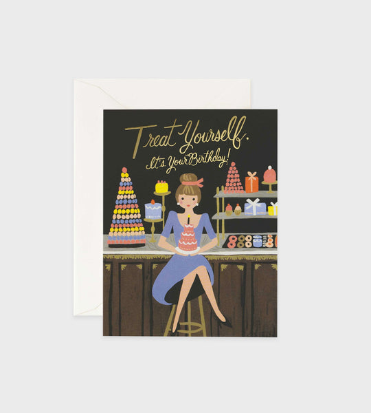 Rifle Paper Co. |  Treat Yourself Birthday Card