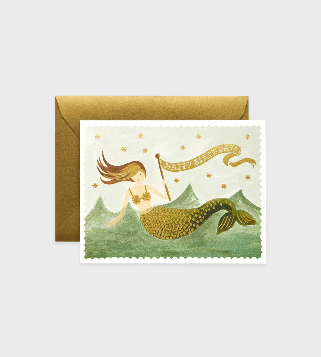 Rifle Paper Co. | Vintage Mermaid Birthday Card