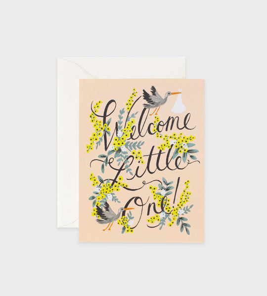 Rifle Paper Co. | Welcome Little One Card