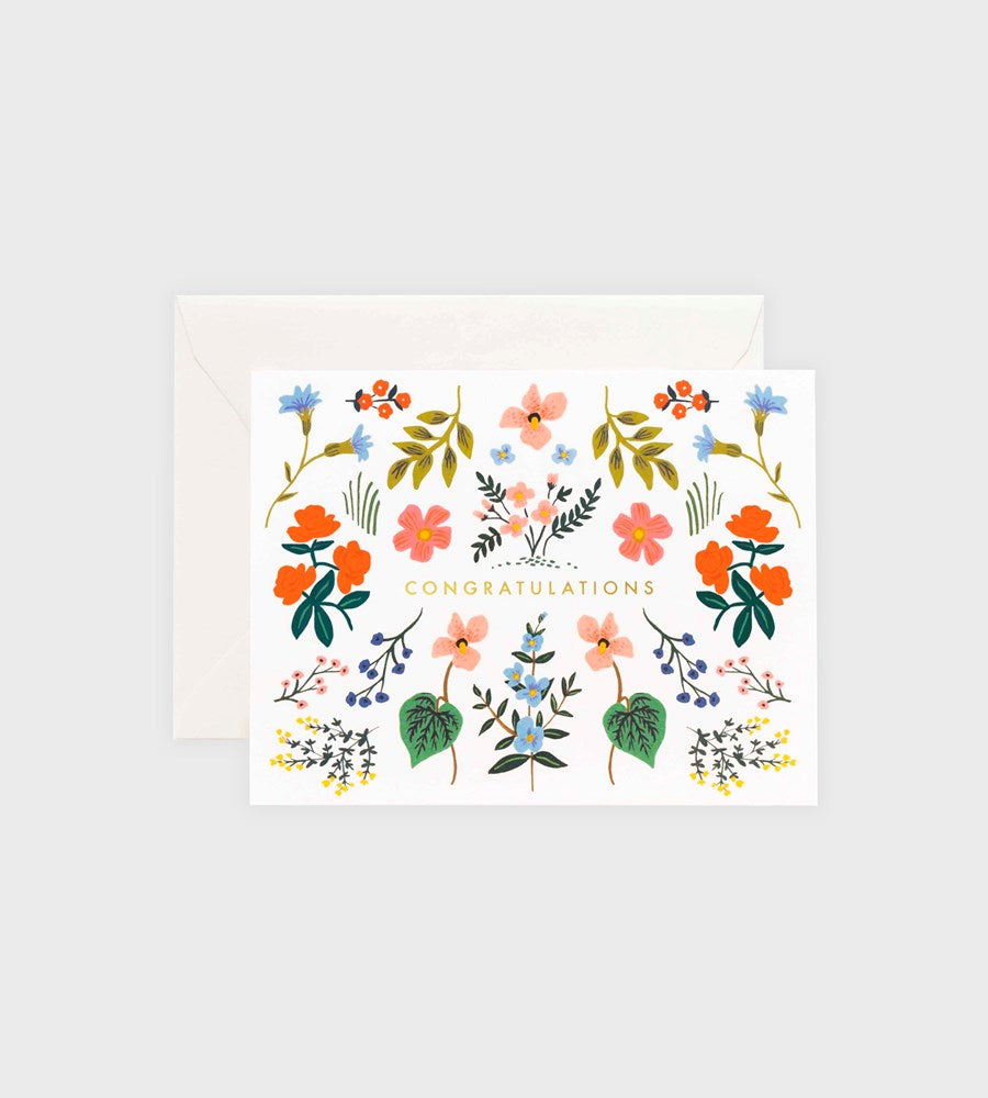 Rifle Paper Co. | Wildwood Congrats Card