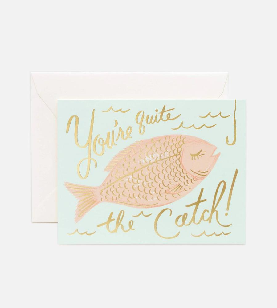 Rifle Paper Co. | You're a Catch Card