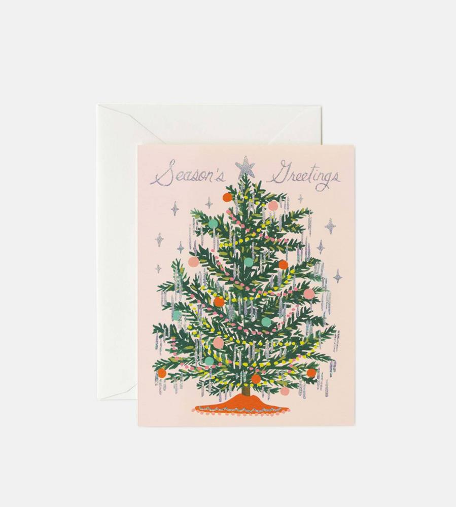 Rifle Paper Co. | Tinsel Tree Card