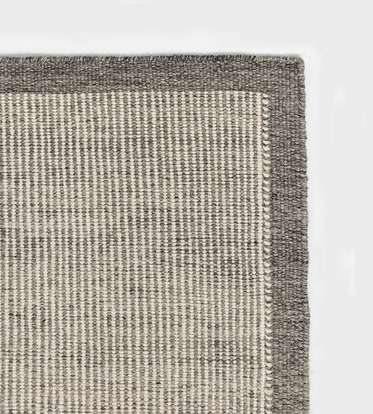 River Wool Rug | Gunmetal