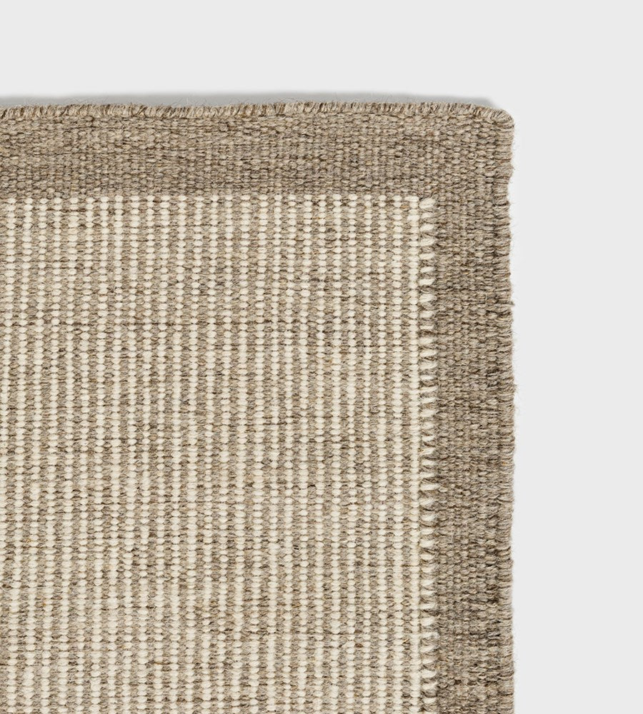 River Wool Rug | Natural