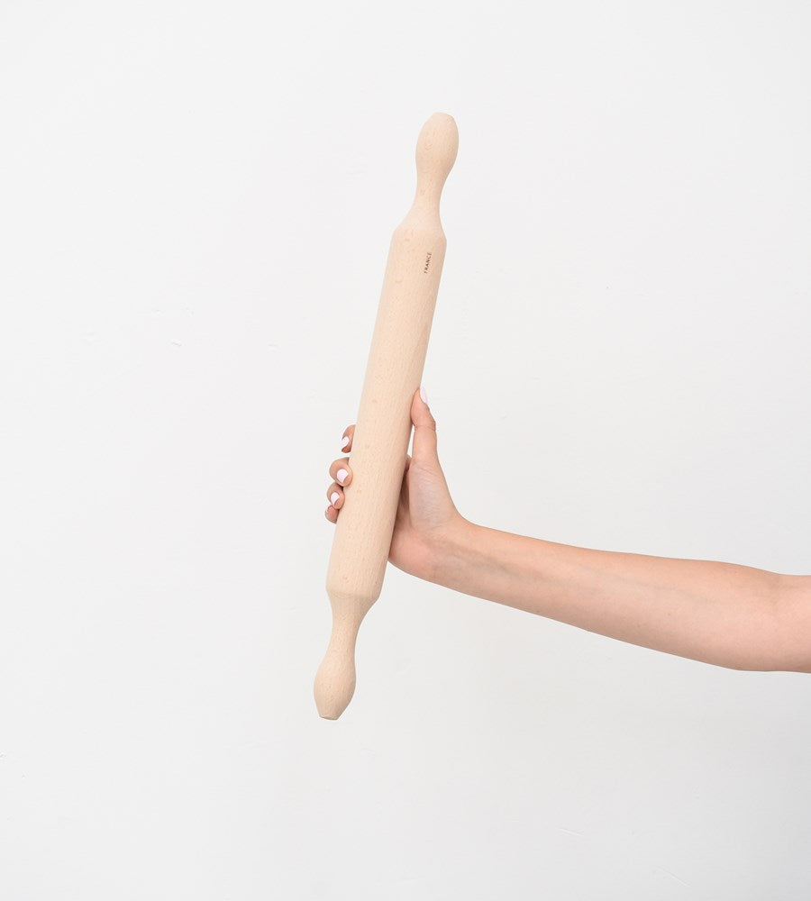 Wooden Rolling Pin with Handles