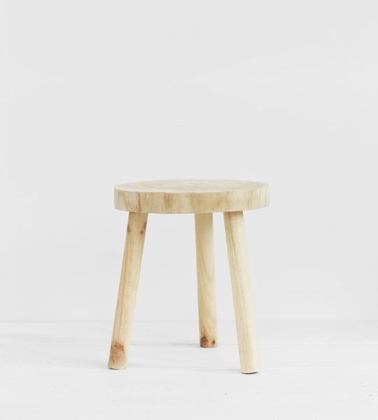 Round Alpine Stool | Natural