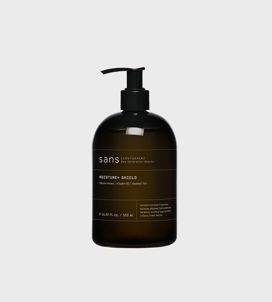 Sans Ceuticals | Moisture + Shield 2:1 Hand Sanitiser | 500ml