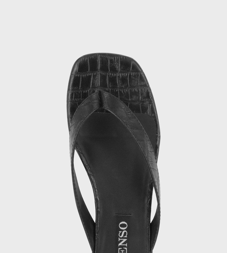 Senso | Brooklyn | Ebony Crocodile