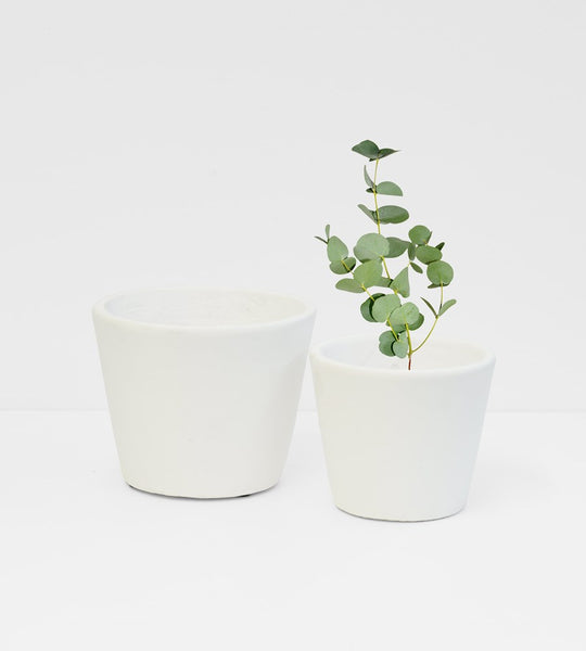 Serax | Stoneware Flower Pot | White