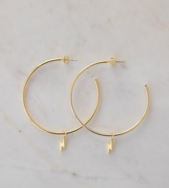 Sophie | Flashy Hoops