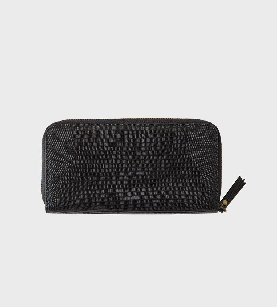 Sophie | Hello Wallet | Black Croc