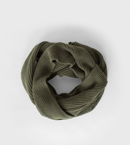 Sophie | Knitty Scarf | Olive