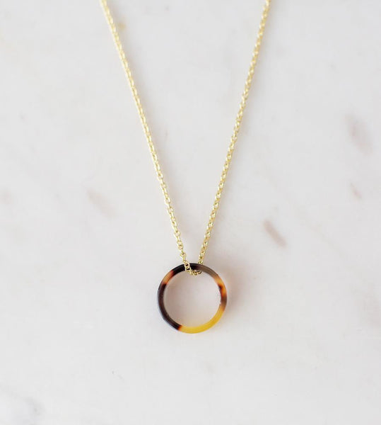 Sophie | Little Tort Neck | Dark | Gold