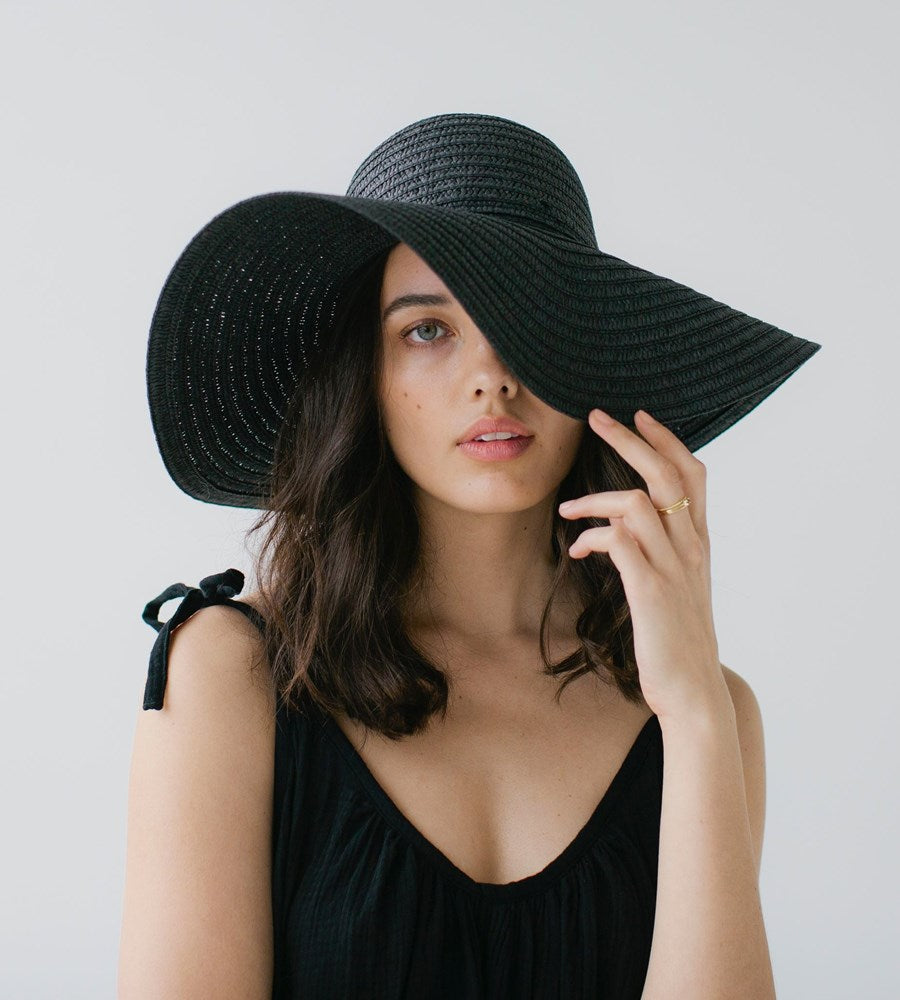 Sophie | So Shady Extra Hat | Black