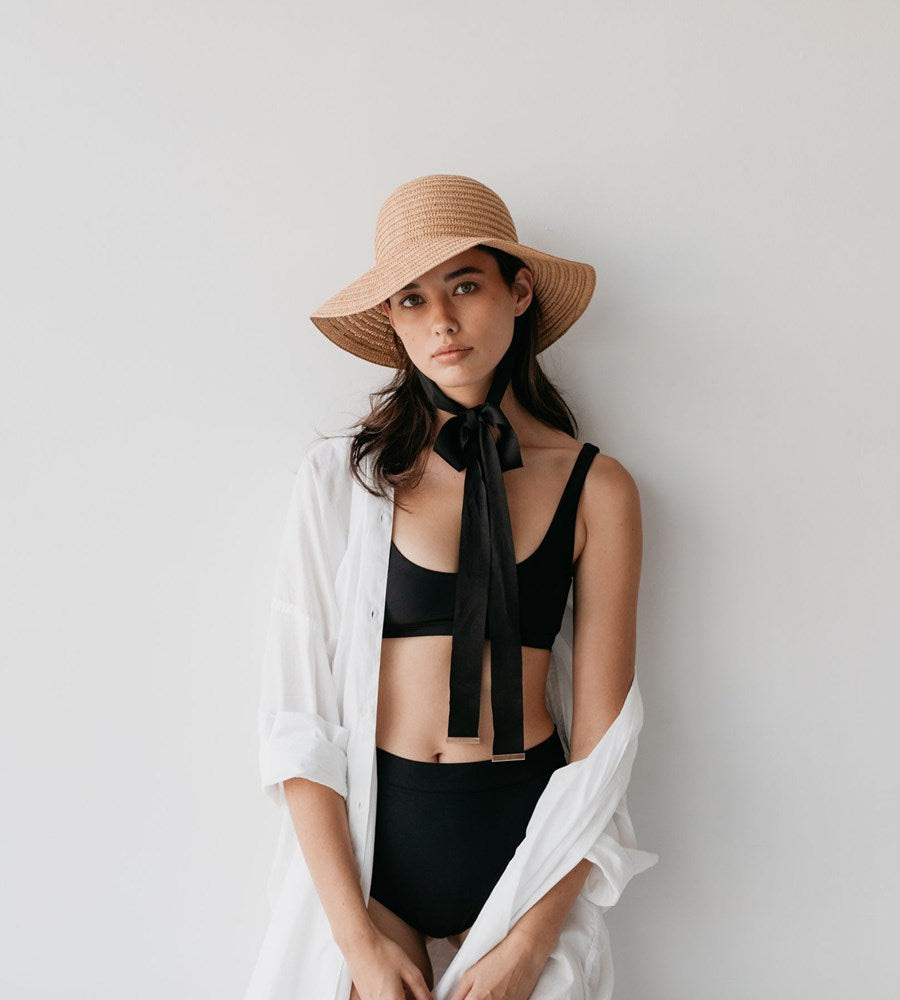 Sophie | So Shady Tie Hat | Natural