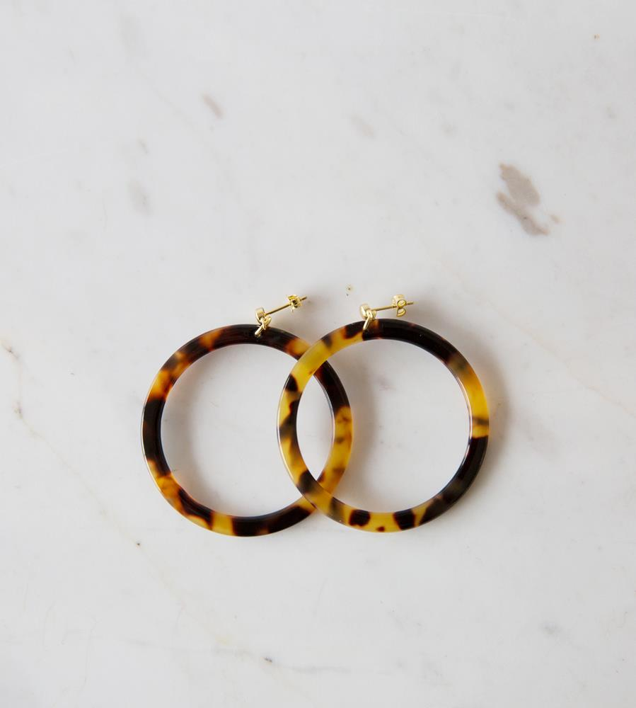 Sophie | Tort Hoops | Dark