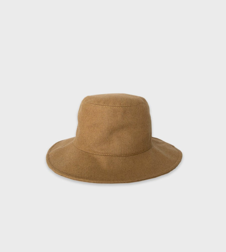 Sophie | Wool Bucket Hat | Camel