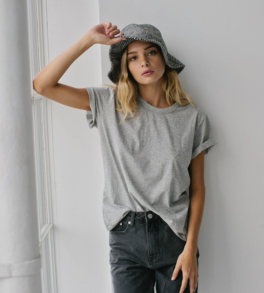 Sophie | Wool Bucket Hat | Tweed
