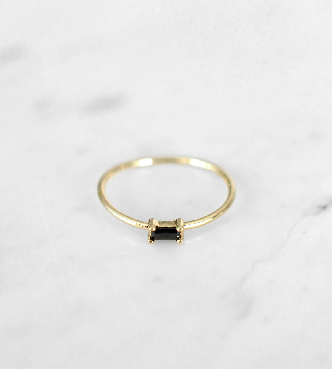 Sophie | You Rock Ring Black | Gold