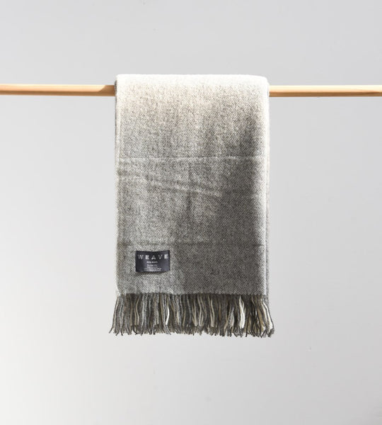 St Bathans Throw | Charcoal