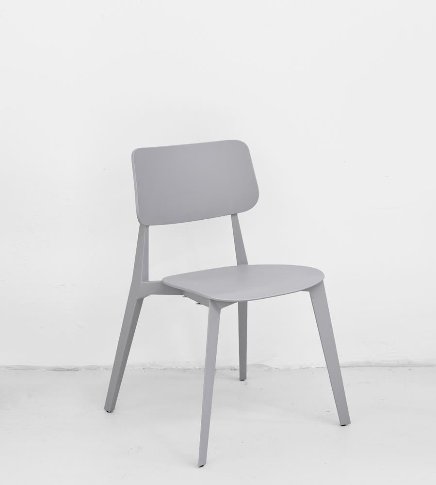 Stellar Stackable Dining Chair | Grey