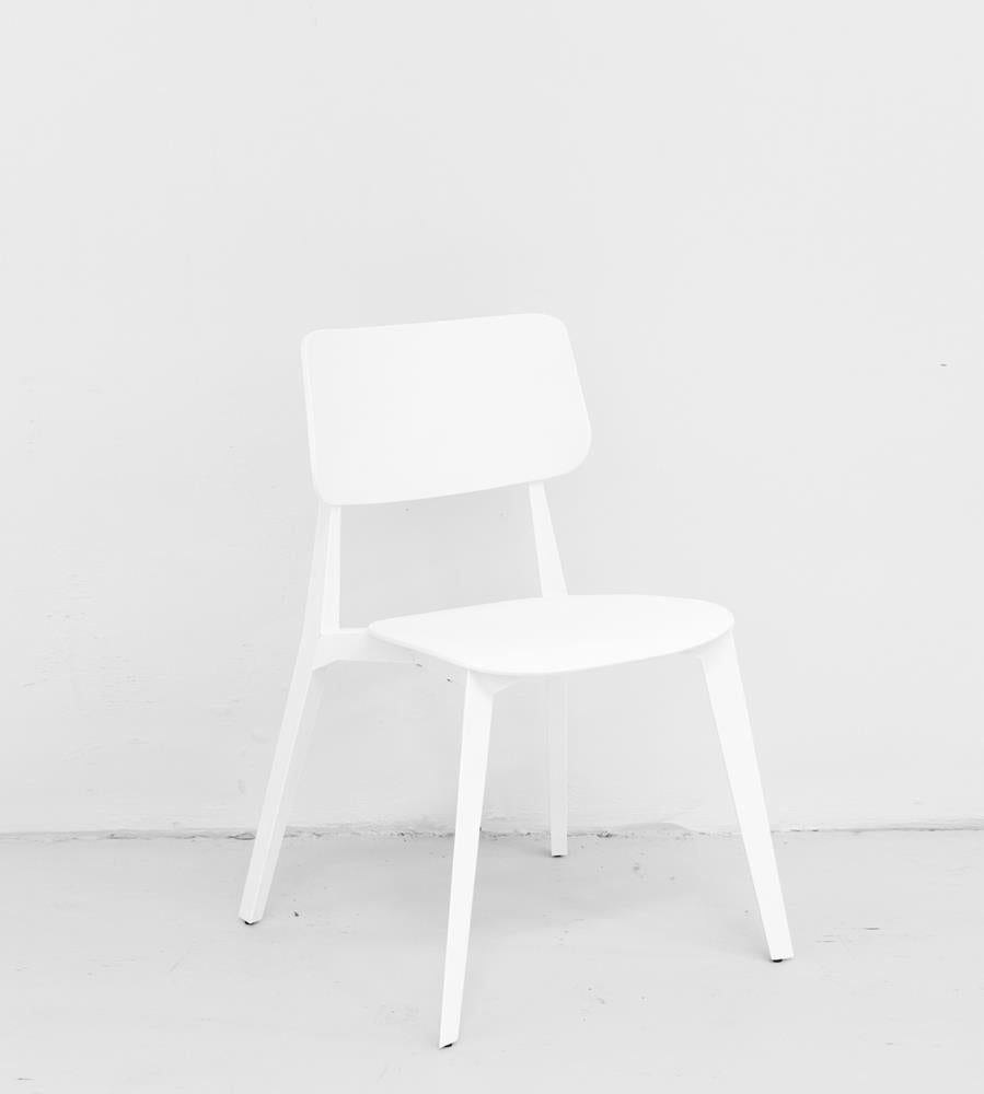 Stellar Stackable Dining Chair | White