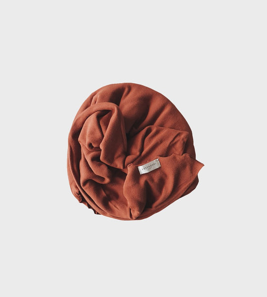 Susukoshi | Organic Swaddle Blanket | Burnt Orange
