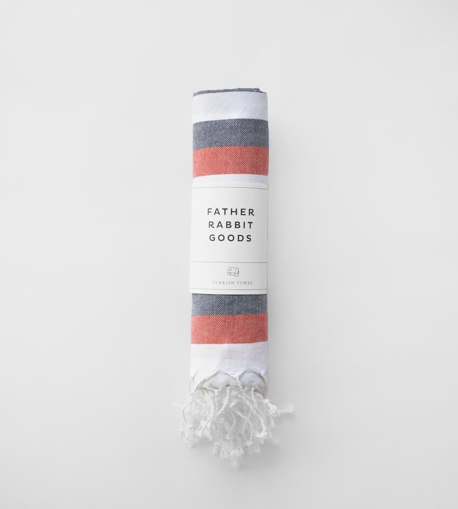 Father Rabbit Goods | Turkish Towel | Pool Side