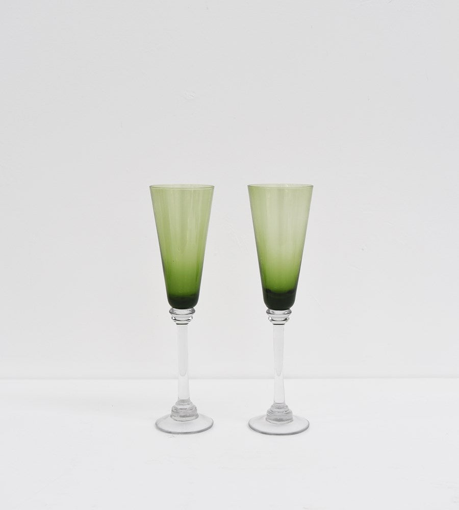 Talbot | Green Glass | Champagne