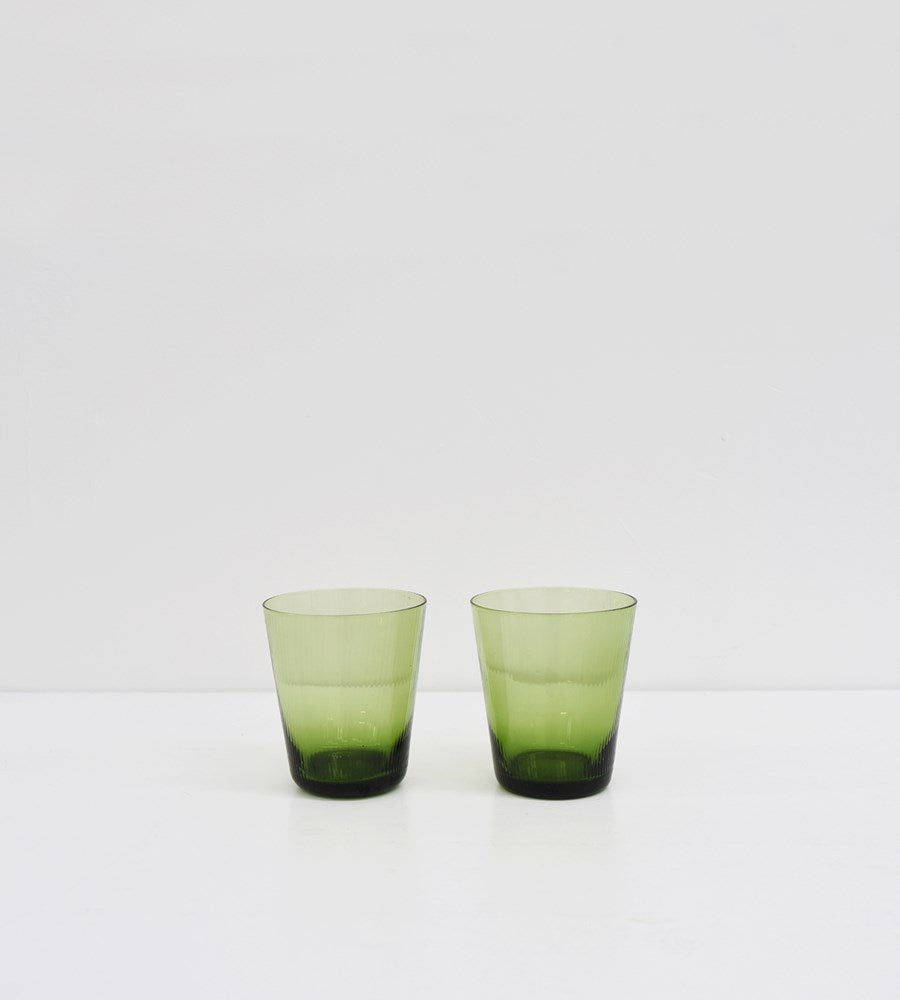 Talbot | Green Glass | Tumbler