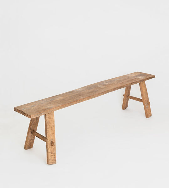 Teak Bench | Natural | Long