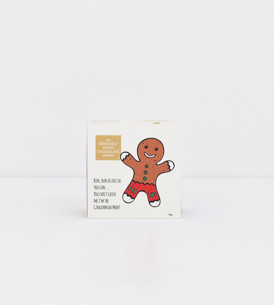The Seriously Good Chocolate Company | Gingerbread Chocolate Box of 4