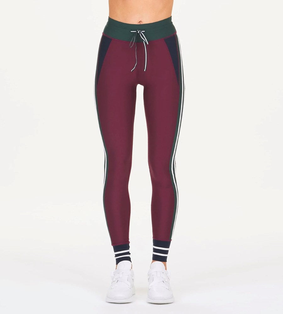 The Upside | Heritage Yoga Pant | Maroon