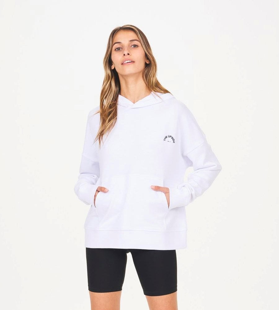 The Upside | Hoodie | White