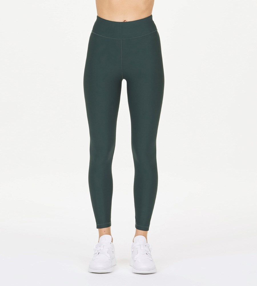 The Upside | Matte Tech Midi Pant | British Green