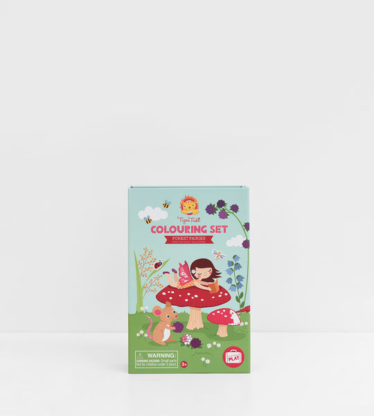 Colouring Set | Forest Fairies