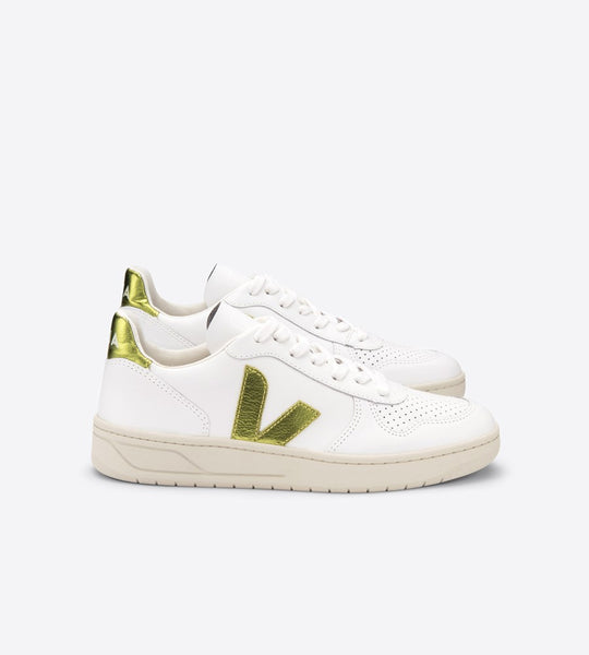 Veja | V10 Leather Sneaker | Extra White Pagi