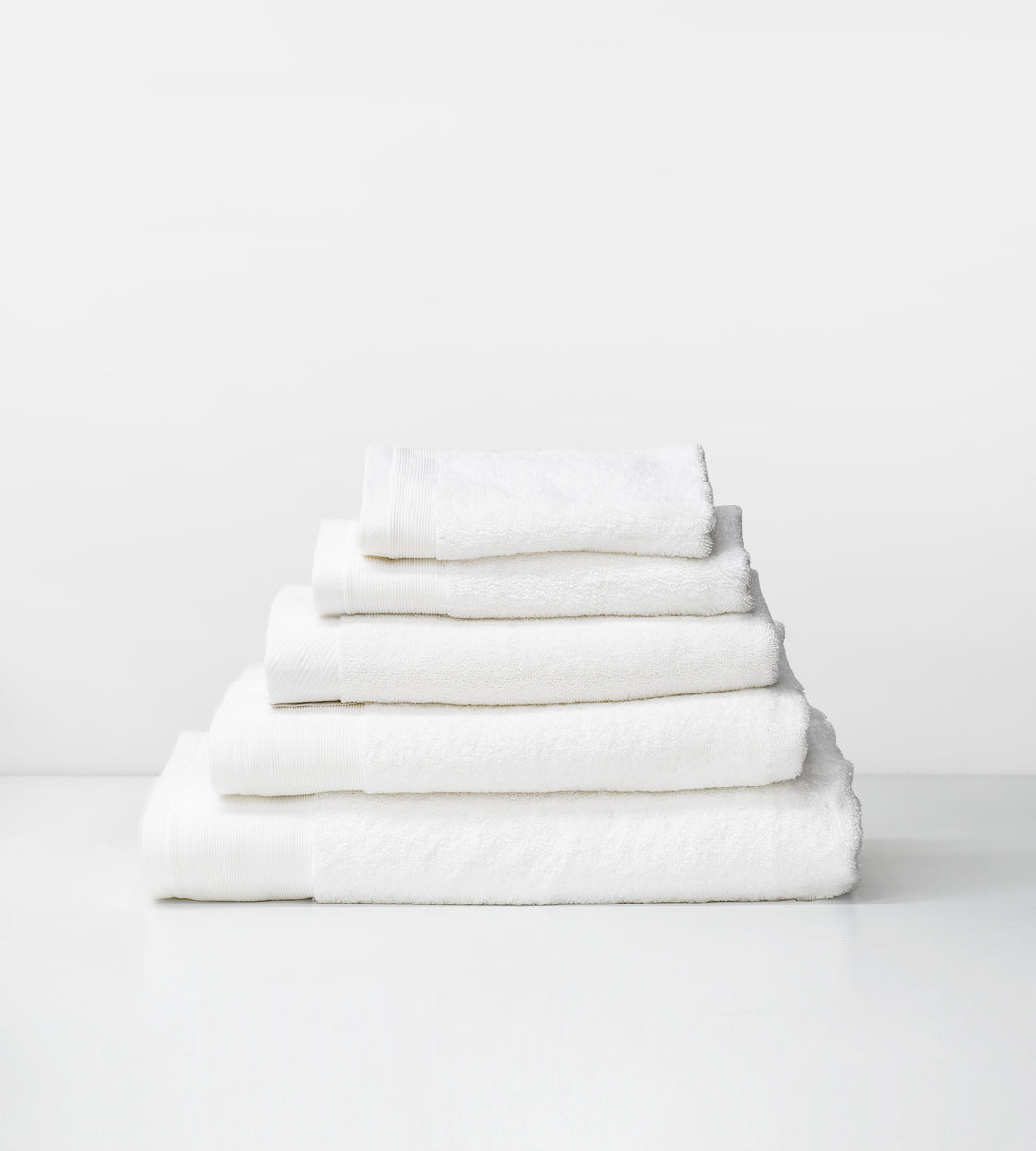 Vida Organic Towels | White