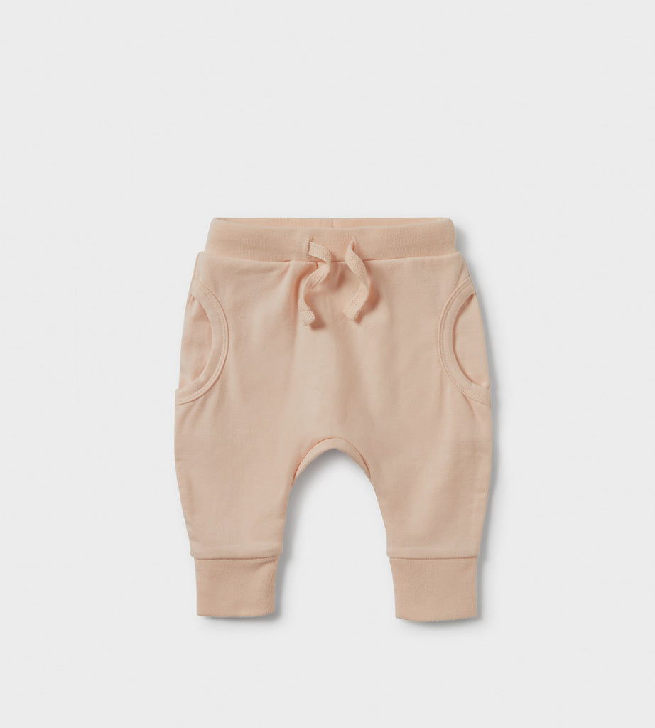 Wilson & Frenchy | Pocket Slouch Pants | Scallop Shell