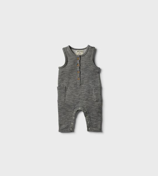 Wilson & Frenchy | Growsuit | Grey Speckle