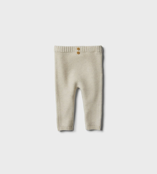 Wilson & Frenchy | Knitted Legging | Oatmeal