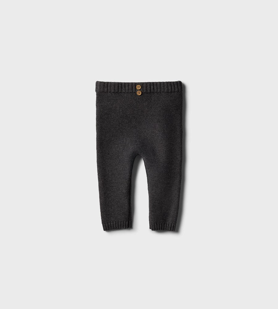 Wilson & Frenchy | Knitted Legging | Storm Grey