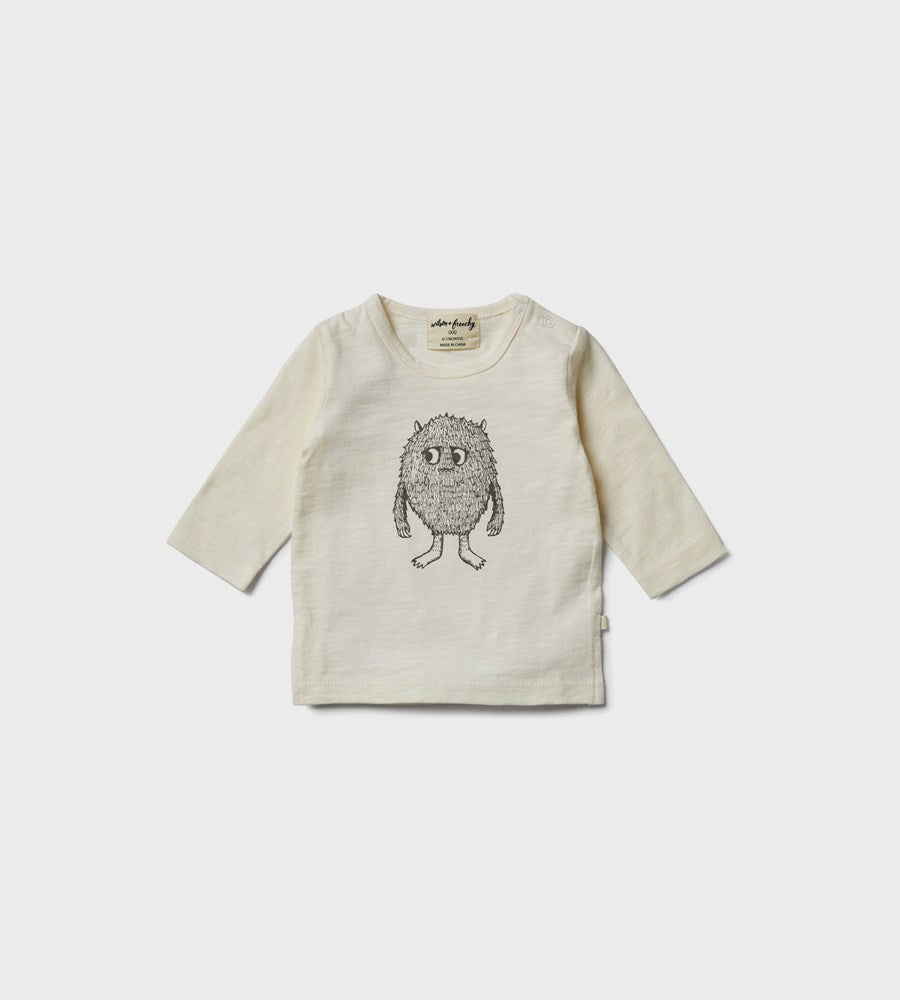 Wilson & Frenchy | Long Sleeve Top | Monster