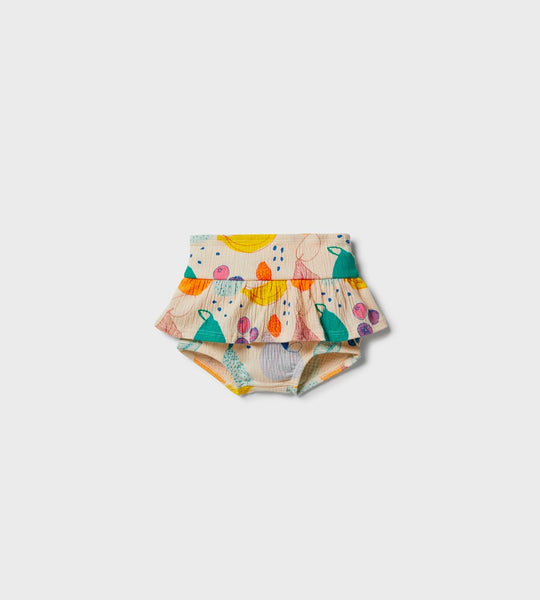 Wilson & Frenchy | Ruffle Nappy Pant | Fruit Loop