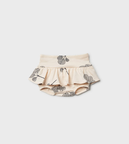 Wilson & Frenchy | Nappy Pant with Ruffle | Fan Leaf