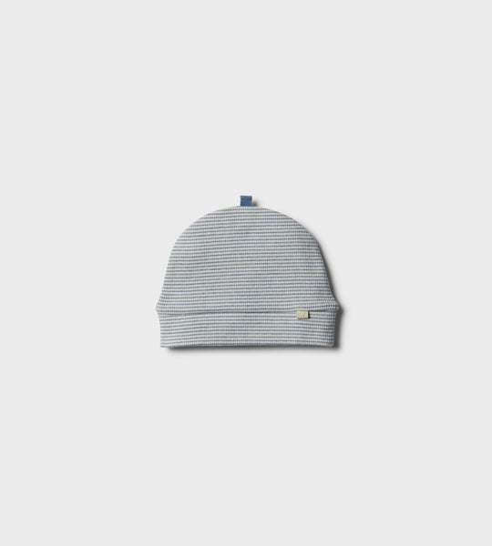 Wilson & Frenchy | Organic Beanie | Faded Denim